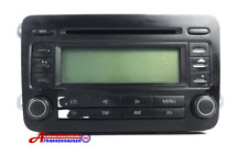 VW din 2 Radio Car Radio CD RCD300 1K0035186G Blaupunkt: 7642233360 Without Code