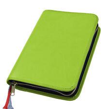 Großdruck Gotteslob Hülle Gotteslobhülle Leder grün für Gebetbuch Gesangbuch