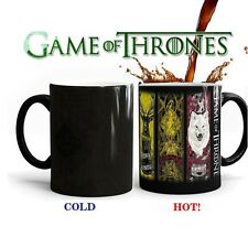 US Hot Game of Thrones Coffee Tea Mug Ceramic Mug Heat Sensitive Color Changing