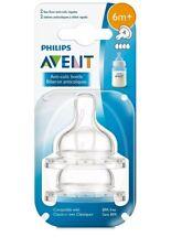 Philips Avent Baby Feeding Bottle Nipple Anti Colic 6M+ New