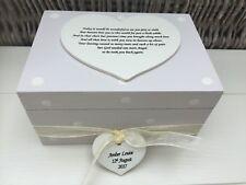 Shabby Personalised Chic Memory Box Baby Girl Memory Box Bereavement Sentimental