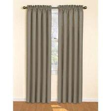 "Eclipse Samara Blackout Energy-Efficient Curtain - 42"" x 54"" - Gray"
