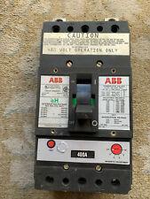 Abb Jh 400amp , 600v, 3 pole circuit breaker,