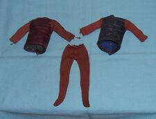 vintage Mego Pota Planet of the Apes Soldier Ape Brown & Black Shirt +Pants Lot