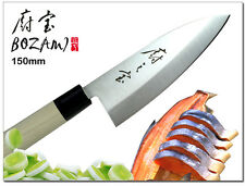 Japanese Design DEBA Fillet Knife 6 inch (Single Blade) Thickness 3mm