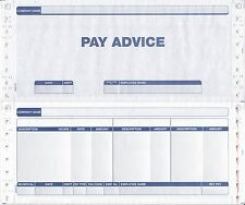 1000 SAGE COMPATIBLE 3 PART SECURITY PAYSLIPS MSA14