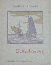 Jean de la Fontinelle Daniel Dyke-Noël Stèles Fleuries 1929