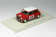 Morris Mini Cooper - No.58 - Rallye Monte Carlo 1963 - 1:43 Spark 1189