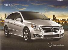 2011 11  Mercedes Benz R  Class  Original  brochure