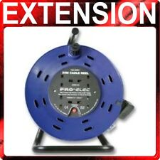50m Extension Lead Reel 13A 50 Metre Heavy Duty 4 Sockets 13 Amp 1.25mm Cable