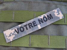 SNAKE PATCH - Bande patro. ACU digital - NAME TAPE us army AUTO AGRIPPANT