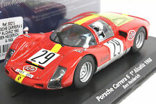 FLY A1604 PORSCHE CARRERA 6 ALCANIZ 1968 1ST NEW 1/32 SLOT CAR IN DISPLAY CASE