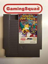 Krusty's Fun House Nintendo NES UKV, Supplied by Gaming Squad Ltd
