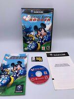 Nintendo GameCube Konami Disney Sports Soccer 2002 Complete Game Case Manual