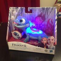 NEW Disney Frozen 2 Bruni Salamander Fire Spirit's Snowy Snack Toy - Works