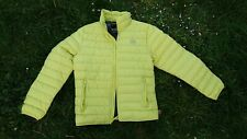 Mens Hollister Ultimate Down Collection Jacket,  XS,  BNWT. Lime Green
