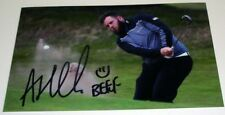 ANDREW BEEF JOHNSTON GOLF PERSONALLY HAND SIGNED AUTOGRAPH PHOTO