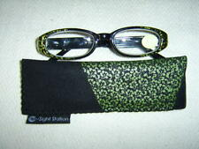 """Sight Station""""Gem""""By Foster Grant Womens Fashion Reading Glasses&Case"""