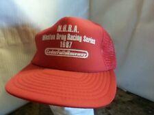 N.H.R.A Winston Drag Racing Series 1987 Cedar Falls Raceway Cap Hat