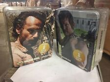 Walking Dead Season Chibis Collectors Tins, Set Of Both With 16 Figurines