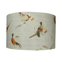 Pheasant Country Drum Lampshade 20cm 30cm 40cm Lightshade Lamp Shade