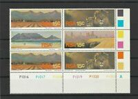 South Africa Mint Never Hinged  Stamps Block with Lions ref R 16347