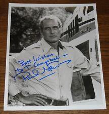 PAUL NEWMAN AUTHENTIC HAND SIGNED AUTOGRAPHED 10x8 PHOTO UACC DEALER