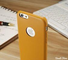 Ultra Slim HandyHülle für Apple iPhone 6 Tasche Case Hülle - Braun (2CBR)