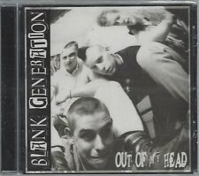 BLANK GENERATION - OUT OF MY HEAD - (still sealed cd) - HARD CD 12
