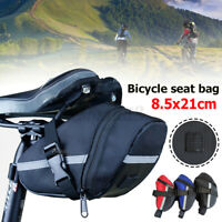 Mountain Bike Storage Cycling Seat Saddle Bag Sport Bicycle Tail Bag Pouch