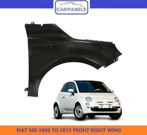 FIAT 500 FRONT WING 2008 - 2015 DRIVERS SIDE RIGHT RH NEW PRIMED READY TO PAINT