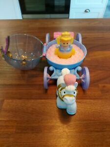 Fisher Price Disney Princess Little People Cinderella Musical Carriage