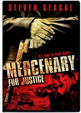 NEW DVD - MERCENARY for JUSTICE - Steven Seagal, Luke Goss, Roger Guenveur Smith