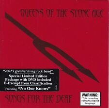 QUEENS OF THE STONE AGE Songs For The Deaf CD + Special Limited Edition DVD
