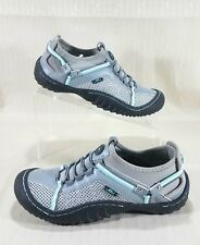 JBU by Jambu Tahoe Max Water Ready Slip On Sneakers Womens Size 6.5M Gray & Blue