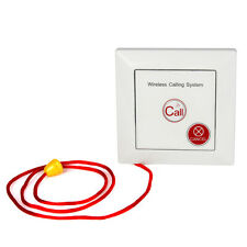 Wireless Call Bell Emergency Pager Calling Button for  Patient the Elderly ASK
