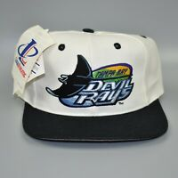 Tampa Bay Devil Rays Logo Athletic Vintage 90's MLB Wool Snapback Cap Hat - NWT