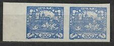 Czechoslovakia, Hradcany Mi. 9 translucent paper