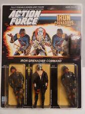 Fuerza de acción/Gi Joe Destro V1 & Hierro Granaderos, MOC, Cardado