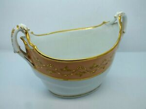 Rare Early 19th Century Flight Barr & Barr Worcester Twin Handled Sucrier C1820