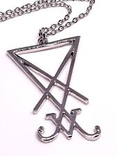 Sigil Church of Satan Seal of Lucifer Anton Lavey Occult Devil Necklace Pendant