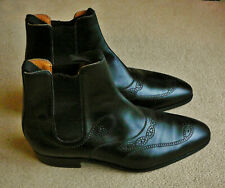 Bottines Cambre Conti Cuir Veau box 42 8E WESTON Calf Leather Boots Halbstiefel