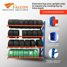 2.5Wx0.6Dx2mH,Tyres Storage Racks Stands Shelf Shelves Shelving Racking, A