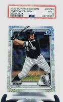 2020 Bowman Chrome Megabox White Sox ANDREW VAUGHN RC CARD PSA 9 MINT/PSA POP 16