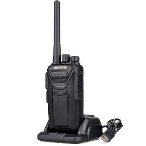 Retevis RT27V WalkieTalkie Long Range Two Way Radios Rechargeable 2W Outdoor