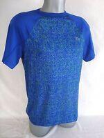 Lacoste SPORT Men s Blue Technical Stretch Jersey Tennis T-Shirt NEW Size M cd258c3d90