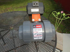 "4""  Pneumatic Actuated AIR OPERATED Hayward  TRUE UNION Ball Valve LB309"