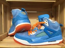 Nike Air Jordan Spizike YOTD 2012 Blue Italy DS New 9,5us Og TZ QS Rare Orange