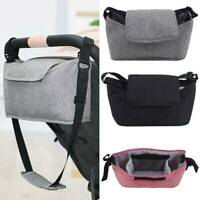 Baby Storage Organiser Buggy Pram Pushchair Bottle Holder Mummy Shoulder Bag Hot