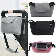 Baby Stroller Organiser Mummy Bag Storage Buggy Pram Pushchair Cup Bottle Holder